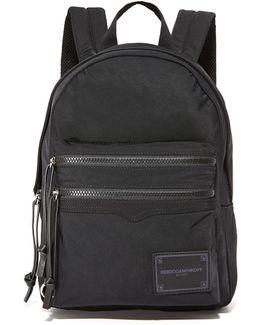Nylon Medium Backpack