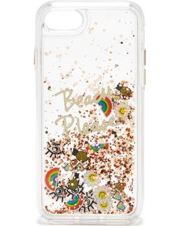 Beach Icon Glitterfall Iphone 7 Case