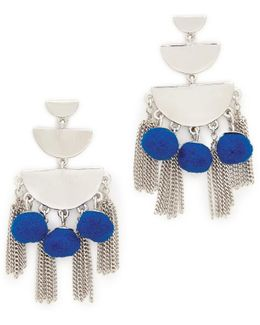 Triple Tier Chandelier Earrings