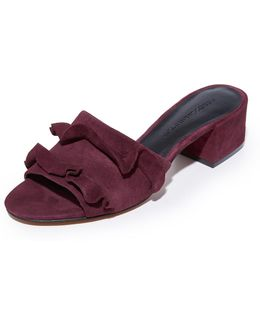 Isabelle Suede City Mules