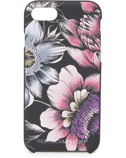 Soft Touch Finish Pencil Floral Iphone 7 Case