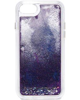 Galaxy Glitterfall Iphone 7 Case