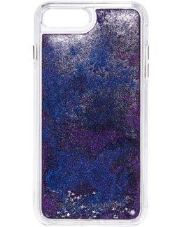 Galaxy Glitterfall Iphone 7 Plus Case