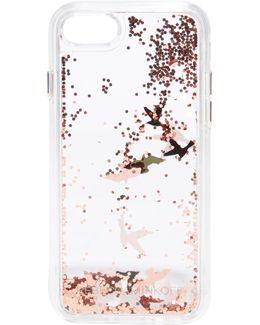 Birds Glitterfall Iphone 7 Case