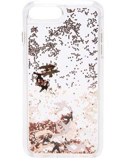 Birds Glitterfall Iphone 7 Plus Case