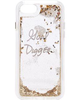 Goal Digger Glitterfall Iphone 7 Case