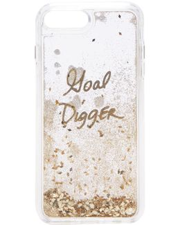 Goal Digger Glitterfall Iphone 7 Plus Case