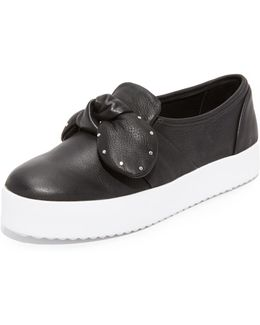 Stacey Stud Bow Sneakers