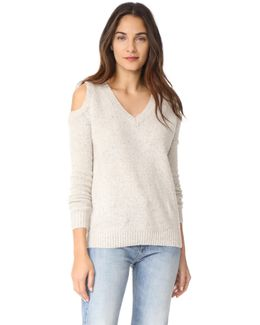 Page V Neck Sweater