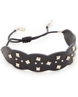 Studded Guitar Strap Bracelet