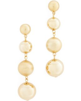Statement Sphere Drop Earrings