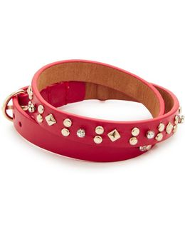 Studded Double Wrap Bracelet