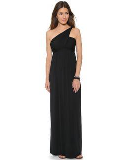 Twist One Shoulder Dress