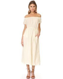 Linen Kais Dress