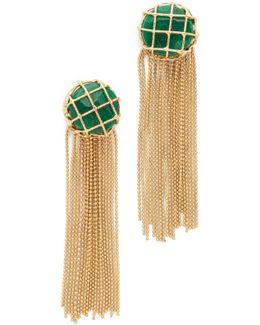 Cage Fringe Earrings