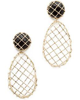 Caged Teardrop Earrings