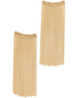 Square Chain Dangle Earrings