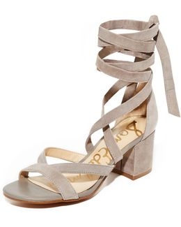 Sheri Suede City Sandals