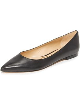Rae Leather Flats