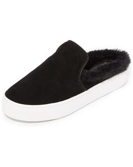Levonne Faux Fur Slip On Sneakers