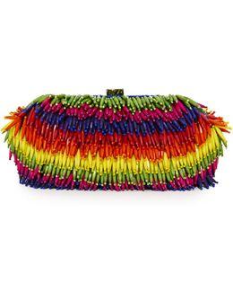 Rainbow Bead Clutch