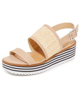 Jandrea Flatform Sandals