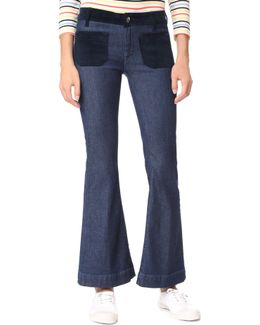 Cropped Penelope Flare Jeans