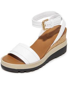 Breton Wedge Sandals