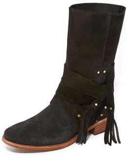 Dasha Flat Boots