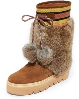 Fur Detailed Boots