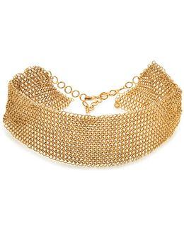Mesh Collar Necklace
