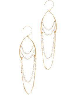 Delicate Chandelier Earrings