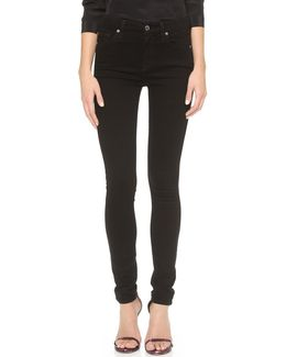 The High Waist Slim Illusion Luxe Skinny Jeans