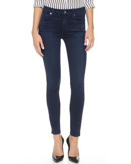 The Mid Rise Slim Illusion Luxe Skinny Jeans