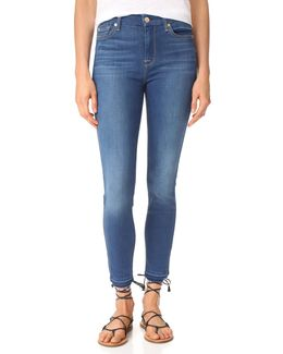 B(air) Skinny Jeans With Released Hem