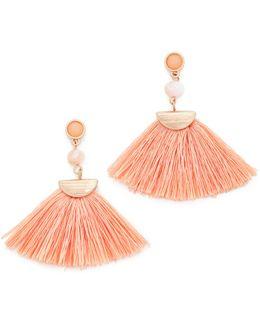Mia Tassel Fan Earrings
