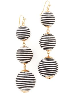 Marie Striped Earrings