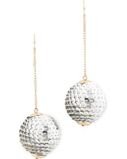 Matilda Sequin Ball Drop Earrings
