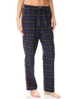 Flannel Plaid Marina Pajama Pants