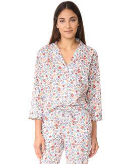 Liberty Edenham Floral Marina Pajama Shirt