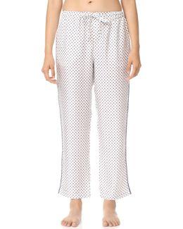 Silk Marina Pajama Pants