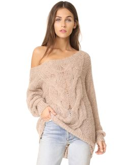 Roselyn Alpaca Sweater