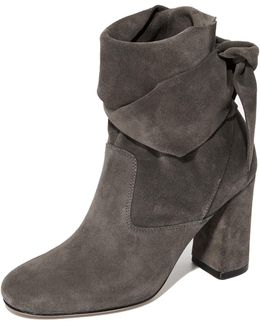 Sally Suede Booties