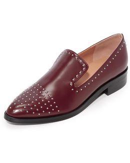 Edna Studded Loafers
