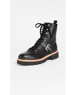 Ida Buckle Boots