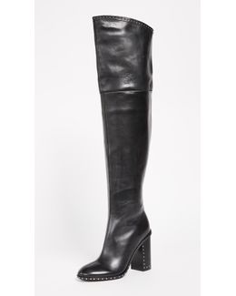 Mars Thigh High Boots