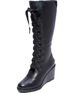 After Hours Tall Wedge Boots
