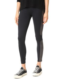 Panel Ponte Leggings