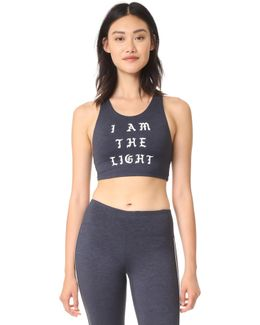I Am The Light Crop Tank