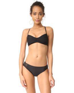 Brocade Bikini Top